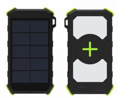 20000mAh wireless solar power bank